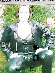 Leather, Latex, Mature latex, Milf leather, Mature leather