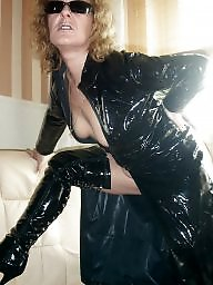 Mom, Latex, Leather, Pvc, Mature mix, Leather mom