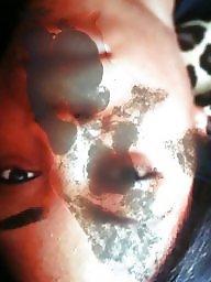 Facial, Ebony facials, Ebony babe