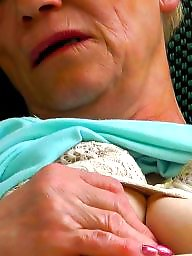 Outdoor, Old, Old women, Mature outdoor, Old mature, Outdoors