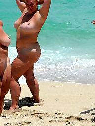 Mature beach, Bbw beach