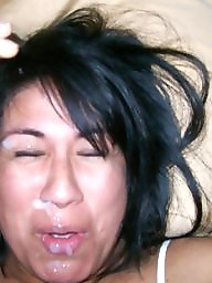 Amateur facials, Facials, Exposed, Wives, Milf facial