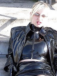 Boots, Latex, Leather, Pvc, Mature porn, Mature boots