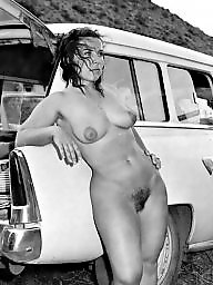 Car, Vintage amateur, Cars, Vintage amateurs, Ladies