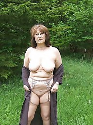 Mature, Milf, Mature flashing, Mature flash