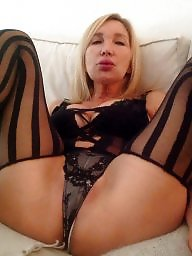 Hard, Blonde milf, Cumming, Tribute