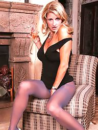 Pantyhose, Mature pantyhose, Stockings, Blonde mature, Mature blonde, Pantyhose mature