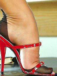 Heels, Vintage, Stockings heels