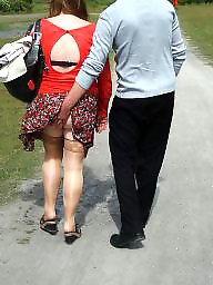 Outdoors, Outdoor mature, Mature outdoor, Lovely granny, Granny public
