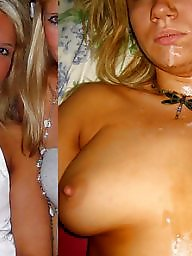 Before and after, Exposed, Wives, Mature wives, Before, Mature slut