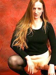 Hairy, Redhead, Hairy redhead, Hairy redheads, Stocking hairy, Hairy stockings
