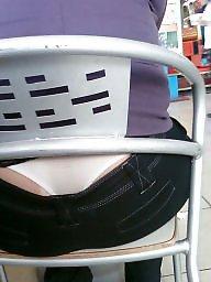 Mature ass, Hidden, Voyeur mature, Mature thong, Thongs, Hidden mature