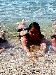 Beach, Tits, Tit