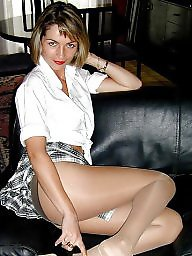 Upskirt stockings, Model, Models