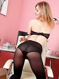 Teens, Tights, Stockings tease