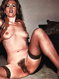 Lady, Caught, Vintage hairy