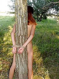 Bondage, Outdoor, Amateur bondage, Outdoors