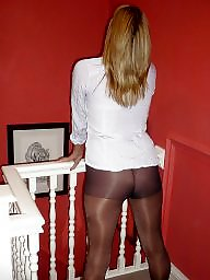 Nylons, Upskirt stockings, Amateur nylon