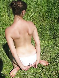 Outdoor, Flashing, Flash, Amateur ass, Outdoors, Naked