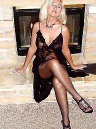 Sexy milf, Sexy dress, Milf stocking