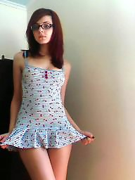 Glasses, Cute, Cute teen, Nerdy, Glass