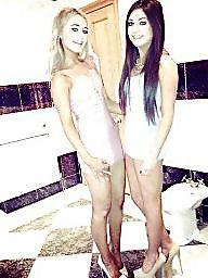 Teen dress, Dressed