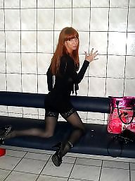 Nylon, High heels, Heels, Nylons, Dress, Dressed