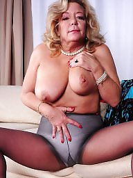 Old milf, Stocking mature, Milf stocking