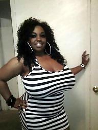 Ebony bbw, Black, Ebony boobs