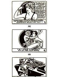 Comix, Vintage cartoon, Vintage amateur