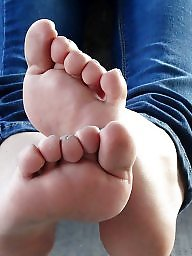 Mature feet, Women