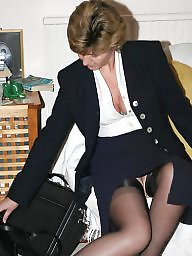 Uk mature, Mature stocking, Mature lady