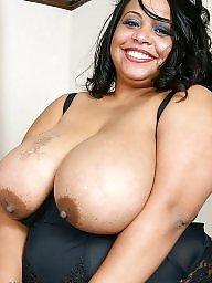 Black bbw, Ebony boobs