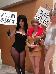 Cosplay, Bunny, Blond, Sluts