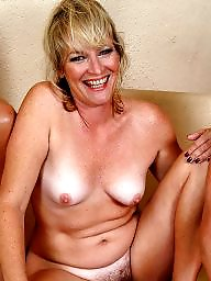 Mature hairy, Hairy mature, Trio, Hot mature