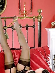 Stockings, Gloves, Upskirt hairy