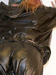 Sauna, Amateur nylon, Suit, Nylon ass