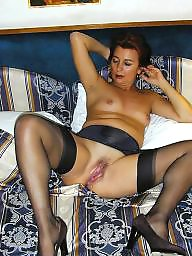 Milf stockings, Mature wife, Mature porn, Milf stocking