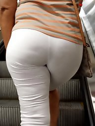 Candid, Hidden, Booty, Candid ass, Tight, White
