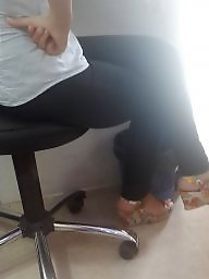 Turkish, Secretary, Face, Teen feet, Turkish teen, Faces