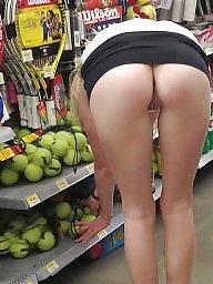 Shopping, Mature slut