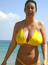 Amateur boobs, Amateur bikini