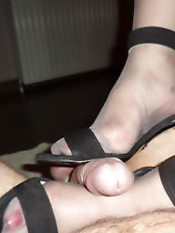 High heels, Stockings, Heels, Grey, Tribute