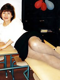 Pantyhose, Mature pantyhose, Pantyhose mature, Lady, Amateur pantyhose, Mature lady