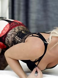 Stocking, Blonde, Blond, Blondes, Stockings
