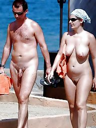 Beach, Naturist, Husband, Wives