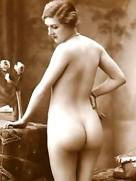 Lady, Vintage amateur, Vintage amateurs