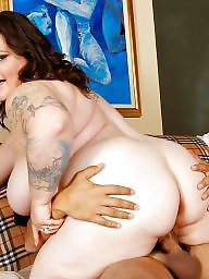 Riding, Bbw anal, Anal bbw, Cowgirl, Bbw interracial