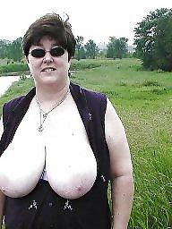 Bbw, Outdoor, Outdoors, Busty, Flashing boobs, Bbw big tits