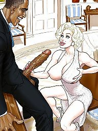 Comic, Comics, Ebony, Interracial cartoon, Interracial cartoons, Interracial comics